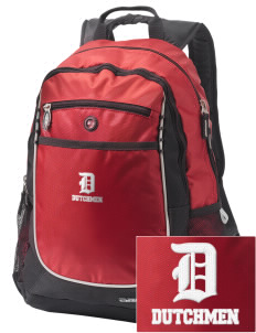 North Annville Elementary School Dutchmen Embroidered OGIO Carbon Backpack