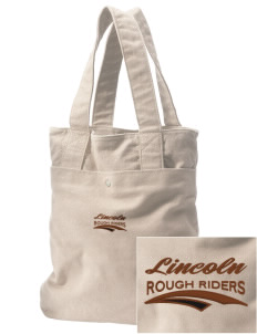 Lincoln Middle School Rough Riders Embroidered Alternative The Berkeley Tote