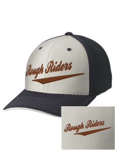 Lincoln Middle School Rough Riders Embroidered M2 Contrast Cap with Puffy 3D Designs