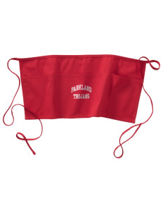 Parkland High School Trojans Waist Apron with Pockets