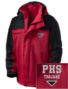 Parkland High School Trojans  Embroidered Men's Nootka Jacket