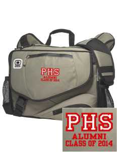 Parkland High School Trojans  Embroidered OGIO Hip Hop messenger bag