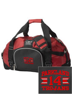 Parkland High School Trojans  Embroidered OGIO Big Dome Duffel Bag