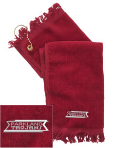 Parkland High School Trojans  Embroidered Grommeted Finger Tip Towel