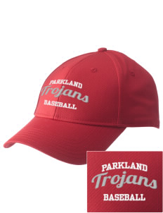 Parkland High School Trojans  Embroidered New Era Adjustable Structured Cap
