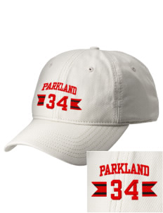 Parkland High School Trojans  Embroidered New Era Adjustable Unstructured Cap