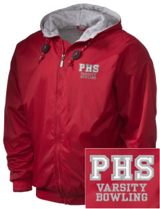 Parkland High School Trojans Embroidered Holloway Men's Hooded Jacket