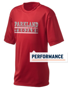 Parkland High School Trojans  Holloway Kid's Zoom Performance T-Shirt