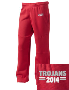 Parkland High School Trojans Embroidered Holloway Kid's Open Cuff Warm Up Pants