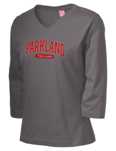 Parkland High School Trojans Women's 3/4-Sleeve T-Shirt