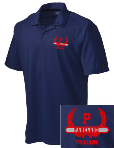Parkland High School Trojans Embroidered OGIO Men's Handlebar Polo