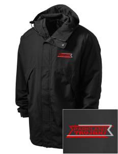 Parkland High School Trojans Embroidered Men's Three-Season Sport Parka
