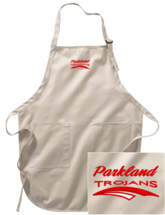 Parkland High School Trojans Embroidered Full-Length Apron with Pockets