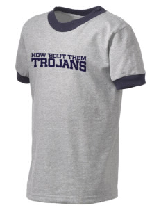 Parkland High School Trojans Kid's Ringer T-Shirt