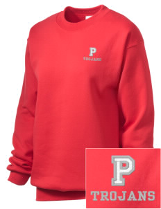 Parkland High School Trojans Embroidered Unisex Crewneck Sweatshirt