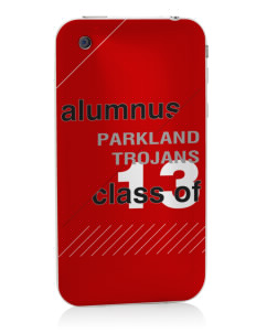 Parkland High School Trojans Apple iPhone 3G/ 3GS Skin
