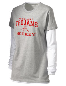 Parkland High School Trojans Women's Long Sleeve Double Layer T-Shirt