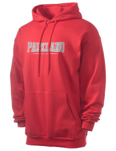 Parkland High School Trojans Men's 7.8 oz Lightweight Hooded Sweatshirt
