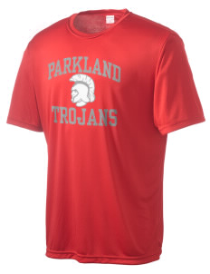 Parkland High School Trojans Men's Competitor Performance T-Shirt