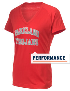 Parkland High School Trojans Women's Ultimate Performance V-Neck