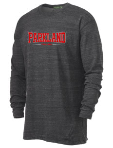 Parkland High School Trojans Alternative Men's 4.4 oz. Long-Sleeve T-Shirt