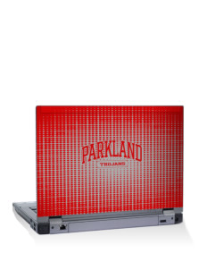 "Parkland High School Trojans 14"" Laptop Skin"