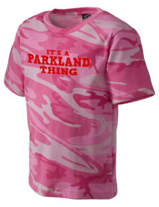 Parkland High School Trojans Kid's Camo T-Shirt