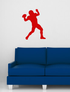 "Parkland High School Trojans Wall Silhouette Decal 20"" x 32"""