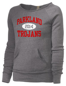 Parkland High School Trojans Alternative Women's Maniac Sweatshirt