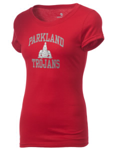Parkland High School Trojans Holloway Groove Juniors T-Shirt