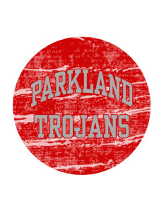 Parkland High School Trojans Sticker