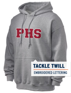 Parkland High School Trojans Men's Ultra Blend 50/50 Hooded Sweatshirt with Tackle Twill