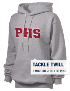 Parkland High School Trojans Unisex Hooded Sweatshirt with Tackle Twill