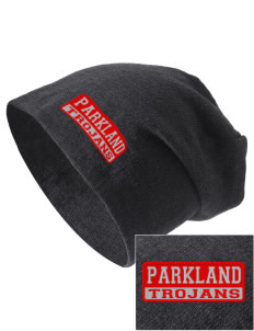 Parkland High School Trojans Embroidered Slouch Beanie