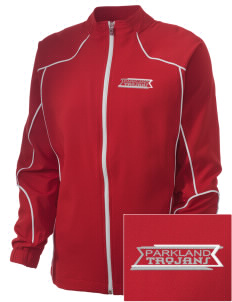 Parkland High School Trojans Embroidered Russell Women's Full Zip Jacket