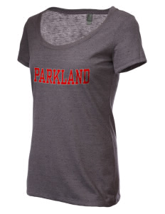 Parkland High School Trojans Women's Textured Scoop T-Shirt