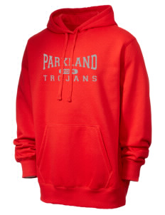 Parkland High School Trojans Men's Tall Pullover Hooded Sweatshirt