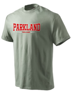 Parkland High School Trojans Hanes Beefy Tagless Men's T-Shirt