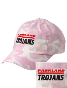 Parkland High School Trojans Embroidered Camouflage Cotton Cap