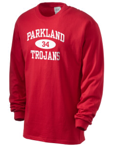Parkland High School Trojans Men's Long Sleeve T-Shirt