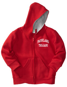 Parkland High School Trojans Toddler Full Zip Hoodie