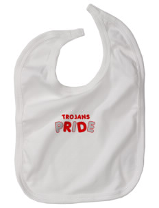 Parkland High School Trojans Baby Interlock Bib