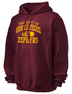 George D Steckel Elementary School Zephyrs Ultra Blend 50/50 Hooded Sweatshirt