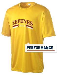 George D Steckel Elementary School Zephyrs Men's Competitor Performance T-Shirt