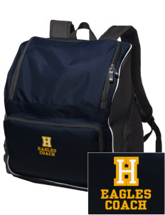 Hillview Intermediate Center Eagles Embroidered Holloway Backpack