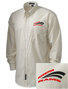 Harriton Senior High School Rams  Embroidered Men's Easy Care, Soil Resistant Shirt