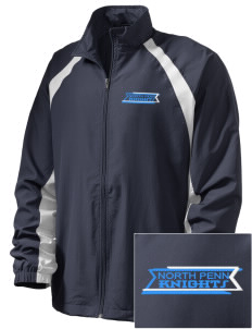 North Penn High School Knights  Embroidered Men's Full Zip Warm Up Jacket