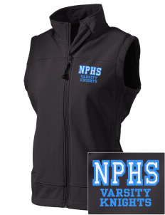 North Penn High School Knights  Embroidered Women's Glacier Soft Shell Vest