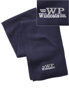 West Point Elementary School Wildcats  Embroidered Knitted Scarf