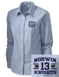 Norwin High School Knights Embroidered Women's Classic Oxford